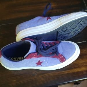 Converse, women's 9 or men's 7
